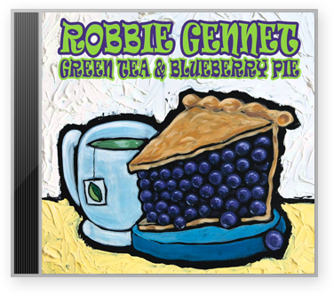 Green Tea and Blueberry Pie CD